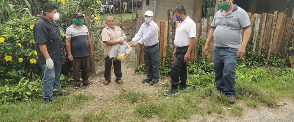 ENTREGA DE AYUDA HUMANITARIA POR MOTIVO DE EMERGENCIA SANITARIA